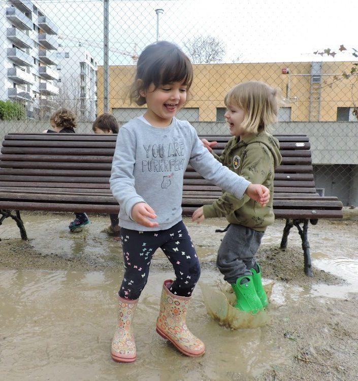 infants saltant bassals