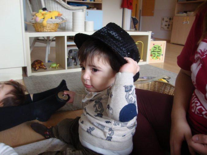 Bruno amb barret