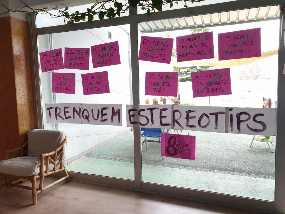 pancartes trencant estereotips